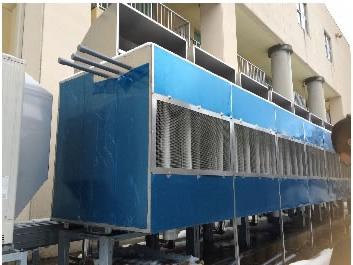 室外機への冷風・温風供給システム