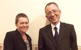SIU Carbondale Chancellor:Dr.Rita Cheng